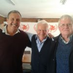 With Terseus Liebenberg and Frank Dick.