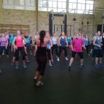 Aerobics in the Driehoek Training Centre
